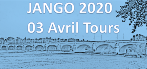 SAVE THE DATE - JANGO - 3 AVRIL 2020 - Tours
